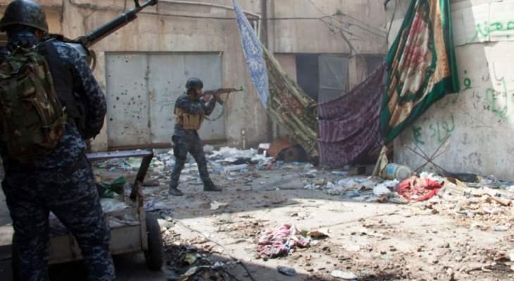 قيادة العمليات المشتركة العراقية: القوات البرية تحاصر 5 إرهابيين لداعش شمال غرب البلاد