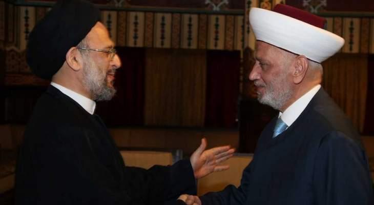 علي فضل الله: لقطع الطريق على كل الساعين للفتنة في الواقع الإسلامي