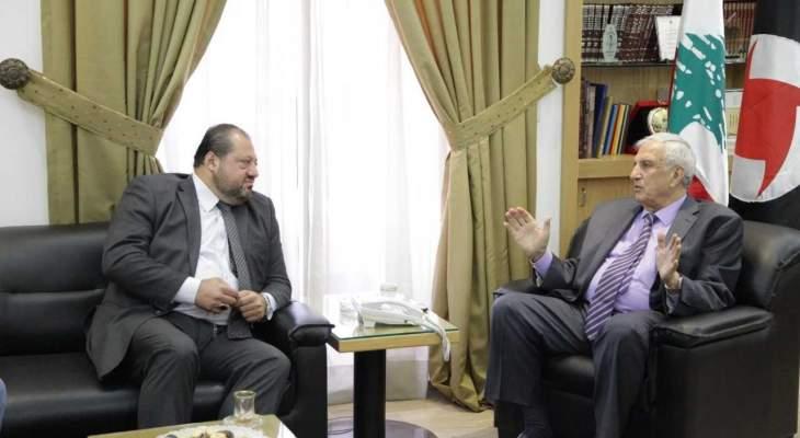 سعد: للحفاظ على عناصر قوة لبنان والتمسك بمعادلة الجيش والشعب والمقاومة