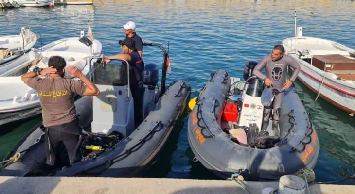 استئناف عمليات البحث عن المفقودين اللذين كانا على متن الطائرة التي سقطت أمس