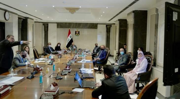 الكاظمي اكد أهمية المشاريع الاستراتيجية التي تقدم خدمة مباشرة للمواطن