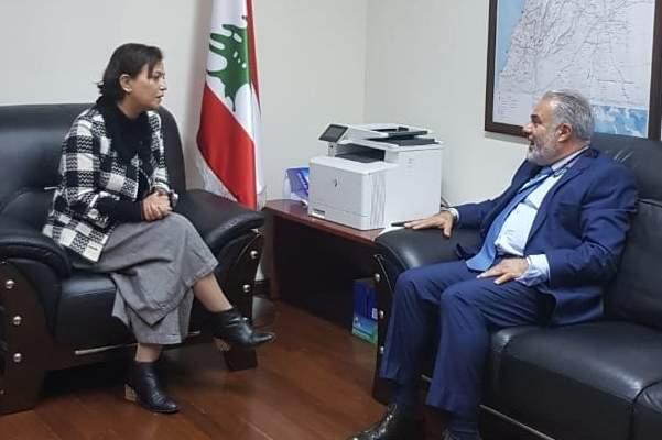 قيصر عبيد: عودة النازحين السوريين تستوجب التزاماً أممياً بتقديم المساعدات