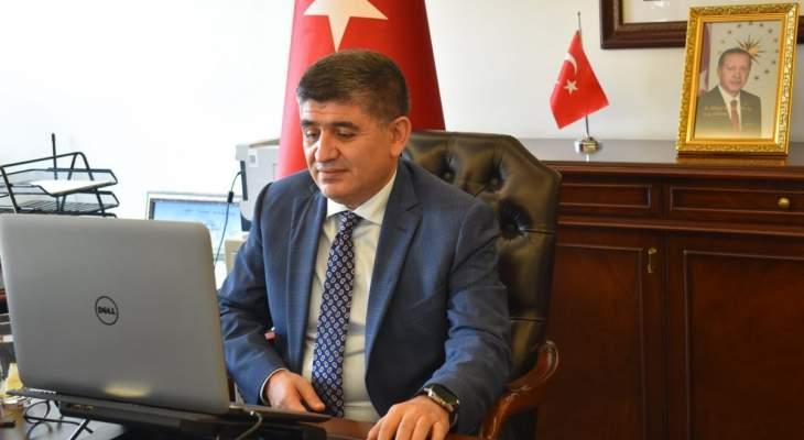 سفير تركيا بقطر: إبرام أكثر من 50 اتفاقية بين البلدين