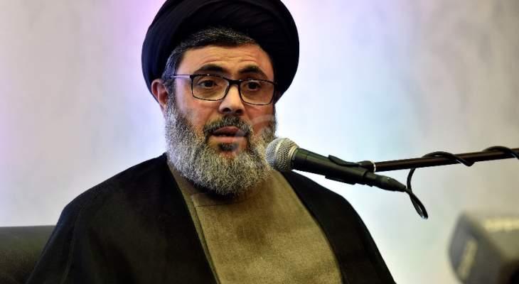 LBC: هاشم صفي الدين لم يشارك بالاحتجاجات على الاوضاع الاقتصادية بالضاحية