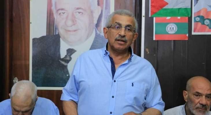 أسامة سعد: خيار المقاومة هو خيار استراتيجي من اجل العزة والكرامة