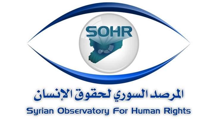 المرصد السوري: طائرة مجهولة قصفت المنطقة الحدودية بين سوريا والعراق قرب البوكمال