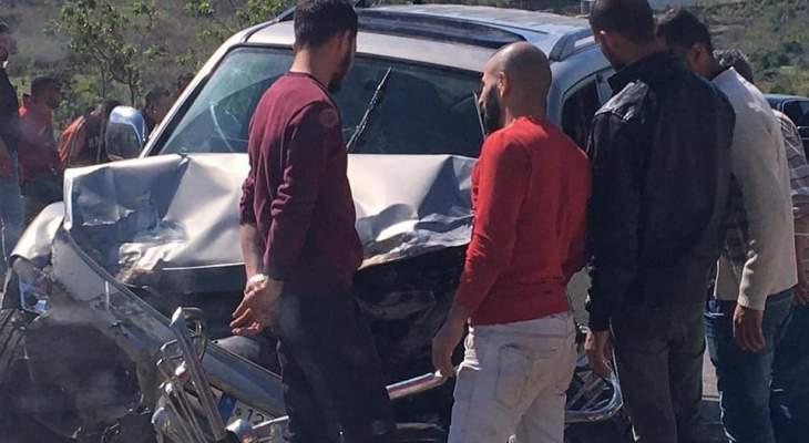 جريح في حادث سير على أوتوستراد المنية الضنية