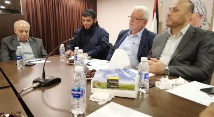 اجتماع فلسطيني ناقش اقرار رؤيا فلسطينية موحدة حول الوضع الفلسطيني في لبنان