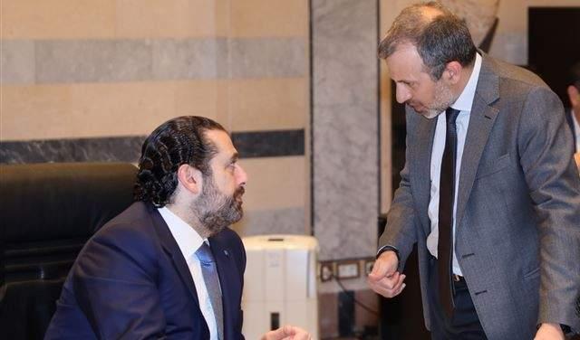 """مصادر بيت الوسط لـ """"الجديد"""": الحريري رفض لقاء باسيل بفرنسا من غير ضمانات تؤدي لولادة حكومية فورية"""
