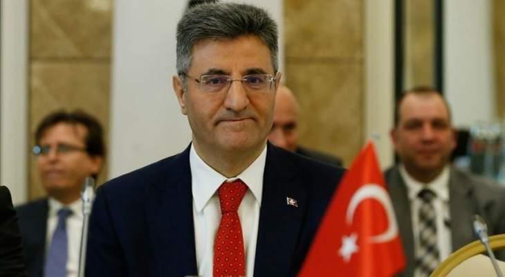 سفير تركيا بألمانيا: فرنسا تؤجج التوتر شرقي المتوسط بدلا من التهدئة