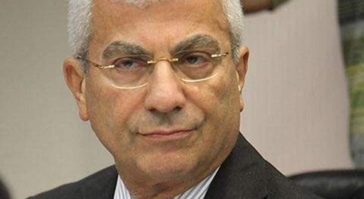 ناجي غاريوس اكد رفض التيار الوطني الحر استقالة باسيل من الحكومة