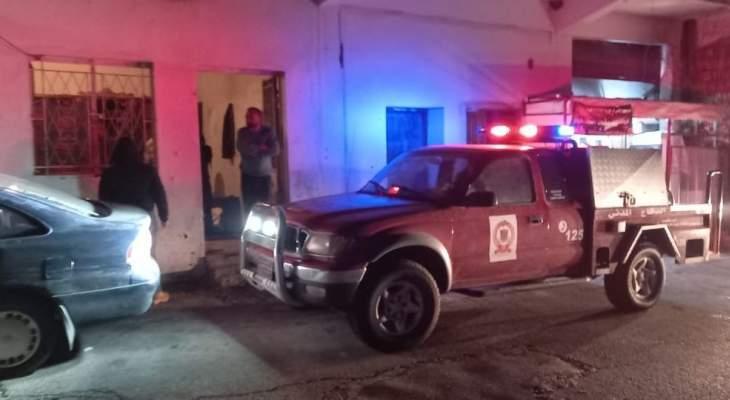النشرة: اندلاع حريق داخل منزل في بلدة شبعا والدفاع المدني تدخل على الفور