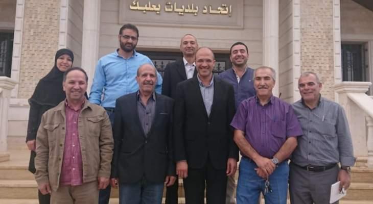 رئيس اتحاد بلديات بعلبك: علينا تحويل الصعوبات لفرص وعدم الاستسلام للواقع