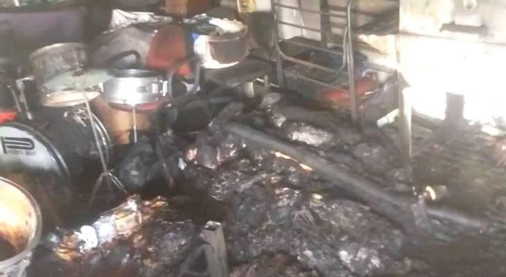 الدفاع المدني: إخماد حريق داخل مختبر طبي في جونية وآخر شب بمنزل في إليسار