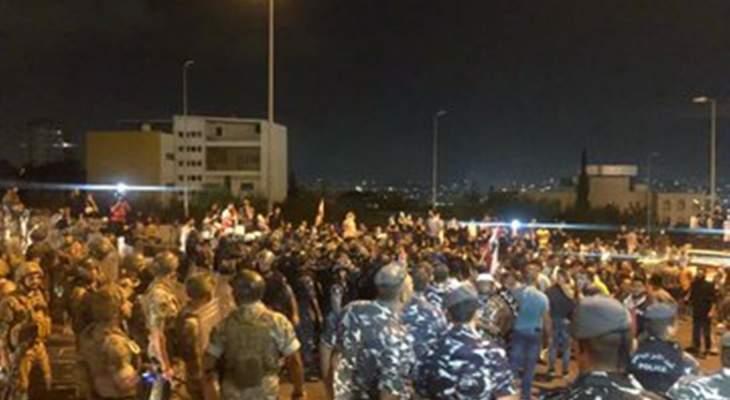 المنار: اجراءات أمنية مكثقة على طريق القصر الجمهوري