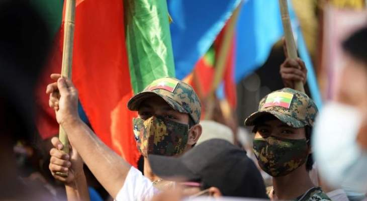رويترز: مقتل 14 محتجا على الأقل في يانغون في ميانمار