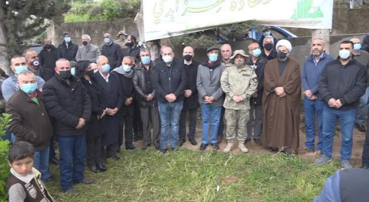 منفذية البقاع الغربي بالقومي نظمت مسيرة في ذكرى مجزرة سحمر