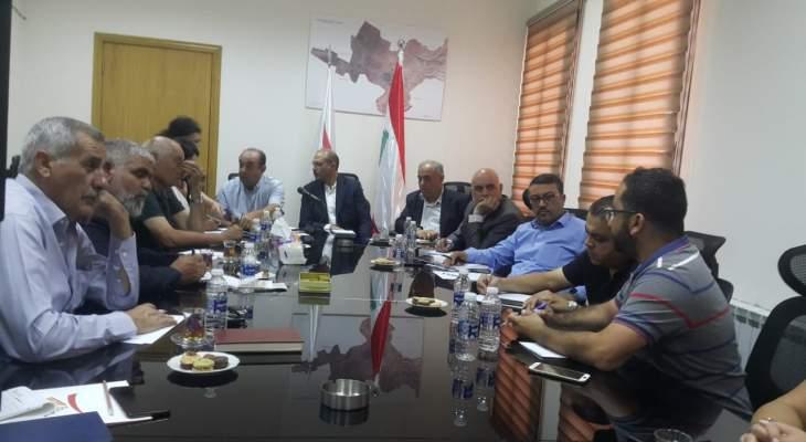 رئيس اتحاد بلديات بعلبك التقى عميد كلية الزراعة في الجامعة اللبنانية