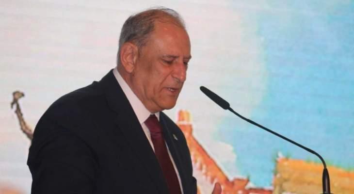 الجراح لمجلس الاعمال اللبناني - المصري: حريصون على تطوير العلاقات مع مصر