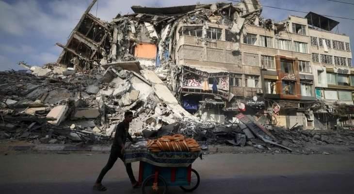 هدوء في غزة بعد بدء سريان وقف إطلاق النار وتدمير واسع في البنية التحتية