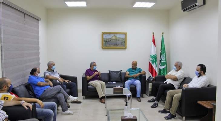 الجماعة الاسلامية بصيدا تستقبل تجمع المؤسسات الأهلية ووفد طلاب فلسطيني