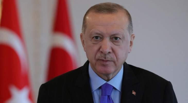 """اردوغان: التطعيم باللقاح ضد """"كورونا"""" في تركيا سيبدأ الخميس أو الجمعة"""
