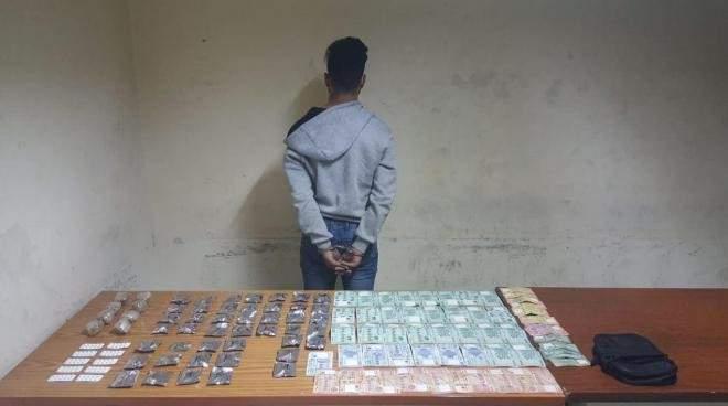 قوى الامن ألقت القبض على مروج مخدرات في برج حمود