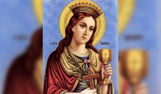 المركز الانطاكي الارثوذكسي للاعلام يشرح معاني عيد القدّيسة بربارة وأهميّته