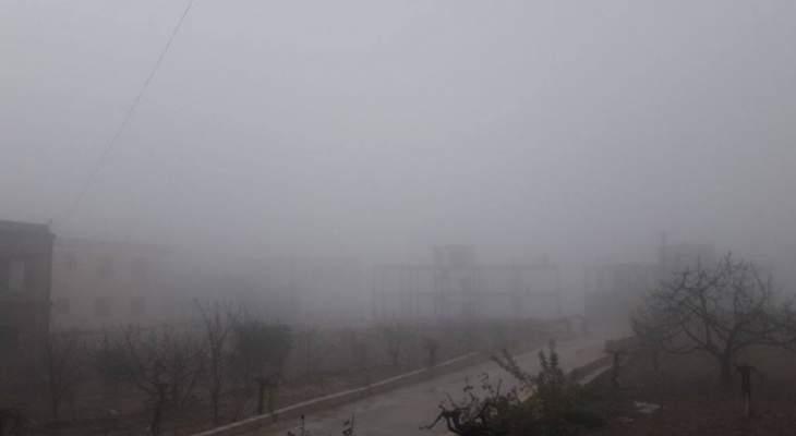 النشرة: طقس عاصف في حاصبيا وتساقط للثلوج ليلا على مرتفعات جبل الشيخ