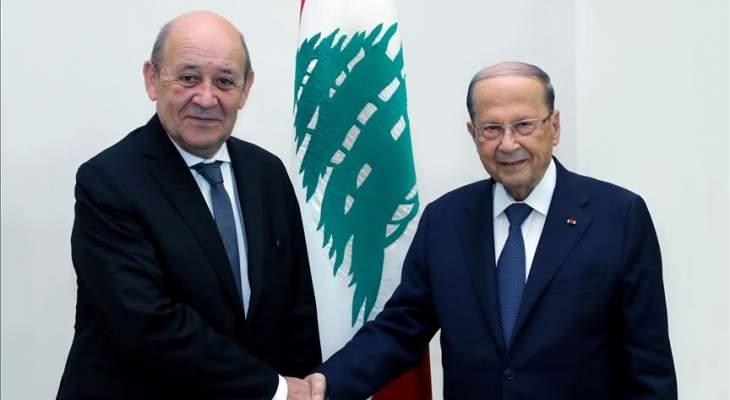 الشرق الأوسط عن زيارة لودريان لبيروت: التخوف من أن تكون باريس تتحضر للانسحاب من الملف اللبناني