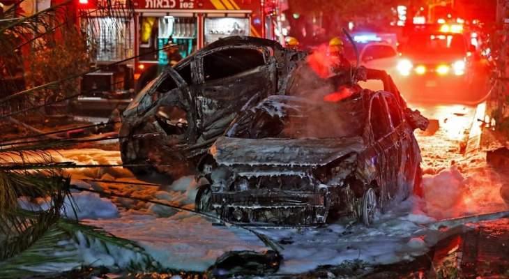 قتيلان و 26 إصابة في القصف الصاروخي الذي استهدف تل أبيب