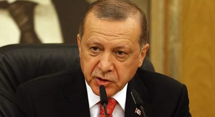 اردوغان: ندعم جهود الرئيس عون ونقف الى جانب لبنان واستقراره وسيادته