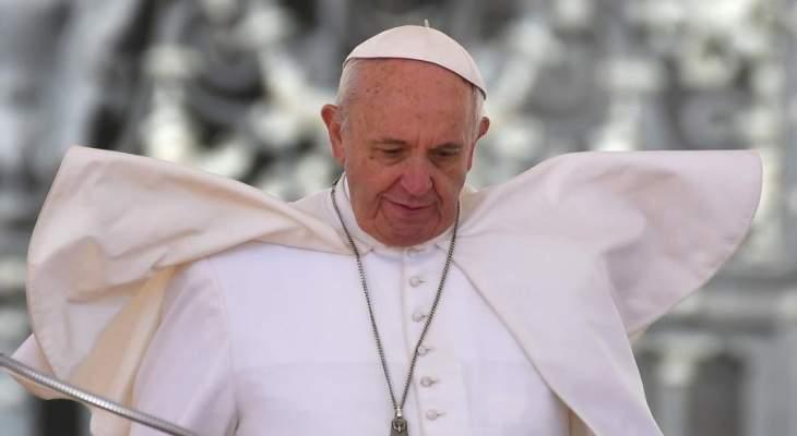 البابا: الصحافي الحر هو الصحافي المتواضع