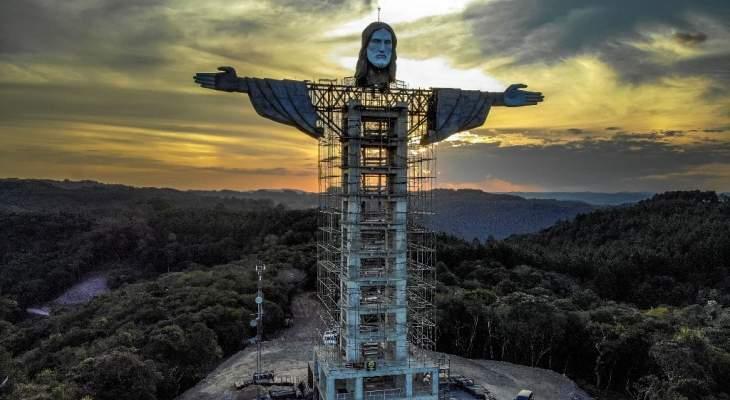 قرية في جنوب البرازيل تبني ثالث أكبر تمثال للمسيح في العالم