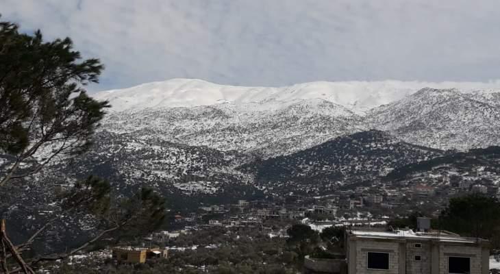 النشرة: تحسن تدريجي بالطقس في مدينة حاصبيا