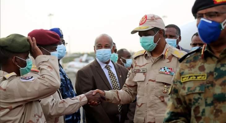 الحكومة السودانية نشرت تعزيزات عسكرية في دارفور لاستعادة الاستقرار