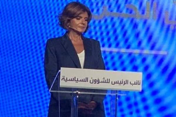 مي خريش: جريمة جبران باسيل أنه صادق ويحمل لبنان وهمومه في قلبه