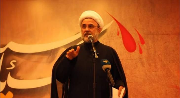 قاووق: لن يكون انقسام وفتنة في لبنان جراء العقوبات الأميركية ولن يحصدوا إلا الخيبة