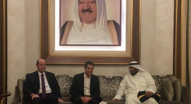 قيومجيان وصل الى الكويت للمشاركة  بمجلس وزراء الشؤون الإجتماعية العرب