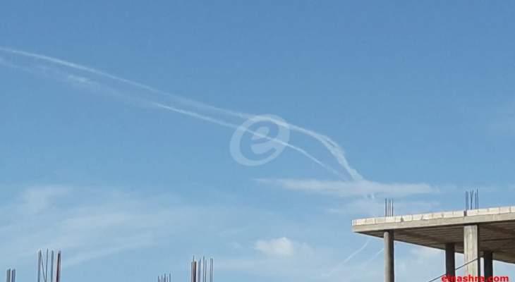 النشرة: الطيران الحربي الإسرائيلي يحلق فوق النبطية وإقليم التفاح منفذا غارات وهمية
