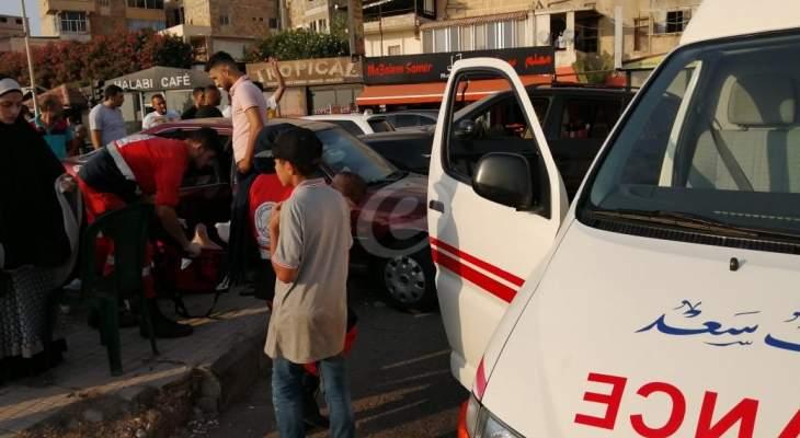 النشرة: 6 جرحى نتيجة حادث سير على الكورنيش البحري لمدينة صيدا