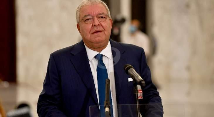 المشنوق: سياسات لبنان لا تحظى الآن بأي دعم عربي من دول مجلس التعاون