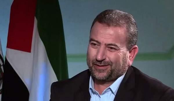 العاروري: نحن بمسار واحد مع ايران على طريق مقارعة الكيان الصهيوني والمستكبرين