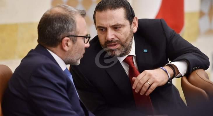 الأنباء: وساطة يقوم بها رجل أعمال لتأمين التواصل بين الحريري وباسيل