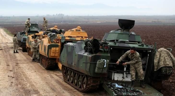 العربية: دورية أميركية من 3 مدرعات تحركت من عين عيسى نحو تل أبيض شمال سوريا