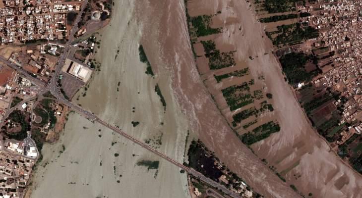 الداخلية السودانية: ارتفاع حصيلة ضحايا الفيضانات إلى 103 قتلى و50 جريحا