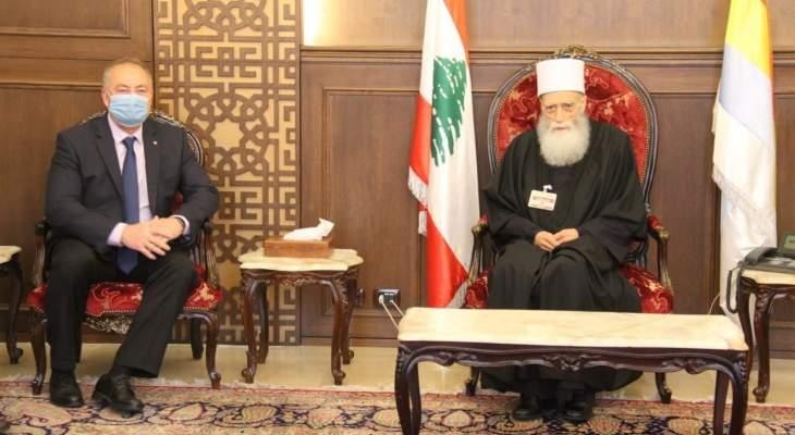 الشيخ حسن التقى روداكوف: نؤكد أهمية الدور الروسي للمساهمة بتسريع تأليف الحكومة