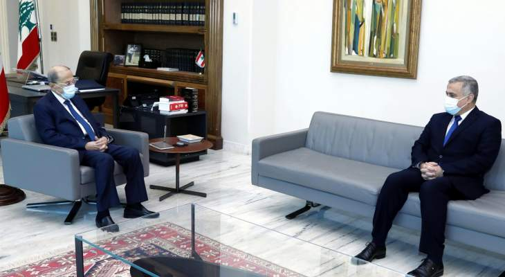 الرئيس عون عرض مع طرابلسي الأوضاع السياسية العامة