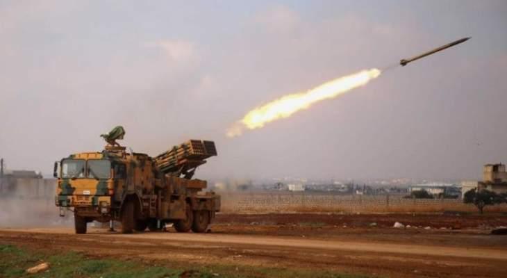 المرصد السوري: القوات التركية والفصائل الموالية لها قصفت مناطق انتشار القوات الكردية شمالي حلب