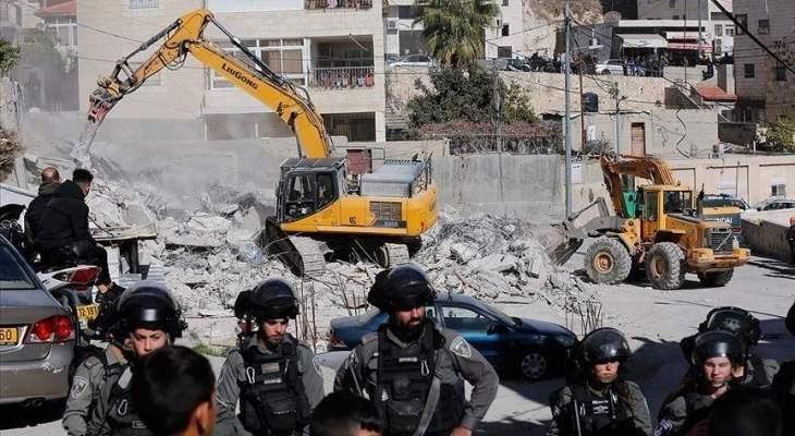 اشتية: ندين هدم إسرائيل مساكن فلسطينيين شمالي الضفة الغربية